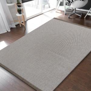 Univerzálny obojstranný koberec v coffee farbe