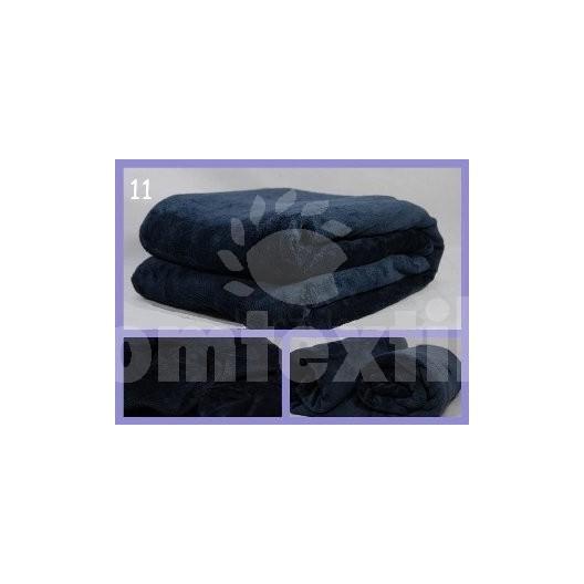Luxusná deka z mikrovlákna 160 x 210cm grafit č.11