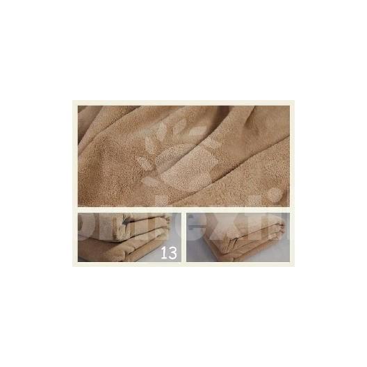 Luxusná deka z mikrovlákna 160 x 210cm jasná pieskova č.13
