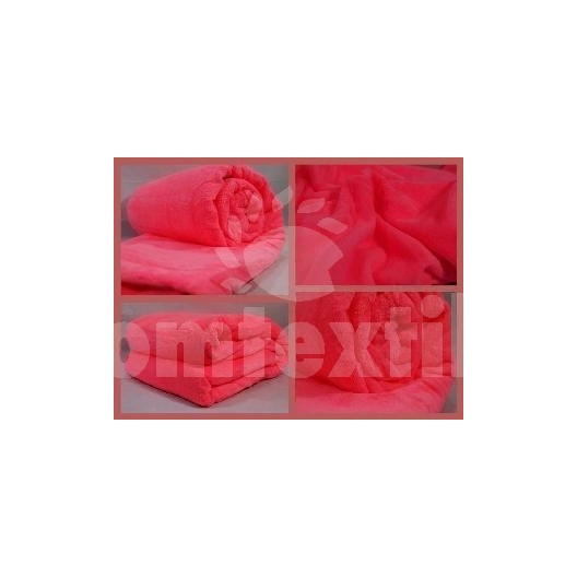 Luxusná deka z mikrovlákna 160 x 210cm cyklamenová č.21