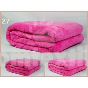 Luxusná deka z mikrovlákna 160 x 210cm ružová č.28