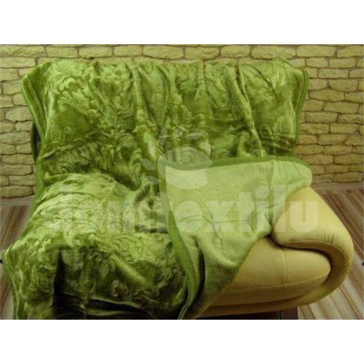 Luxusné deky z akrylu 160 x 210cm zelena č.2