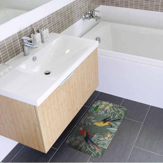 Kvalitný koberec do kúpeľne z kolekcie TROPICAL PARADISE