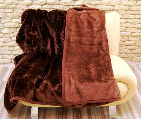 DomTextilu Luxusné deky z akrylu 160 x 210cm hneda č.3 1986-3944