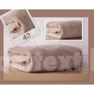 Luxusná deka z mikrovlákna 160 x 210cm bežová č.41