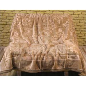 Luxusné deky z akrylu 160 x 210cm hnedá č.10