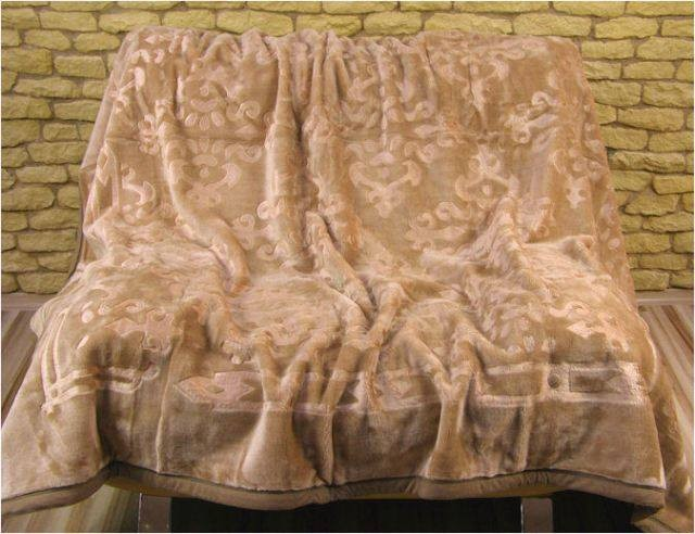 DomTextilu Luxusné deky z akrylu 160 x 210cm hnedá č.10 2000-3906