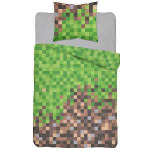 Moderné detské posteľné obliečky s motívom minecraft