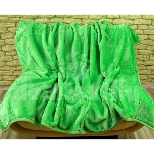 Luxusné deky z akrylu 160 x 210cm zelená č.22