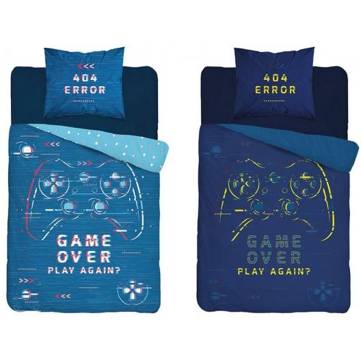Originálne chlapčenské poste ľné obliečky s motívom playstation