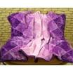 Luxusné deky z akrylu 160 x 210cm fialovlá č.28