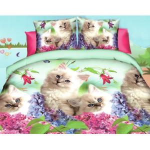 Fenomenálne krásne jarné posteľné obliečky s mačičkami