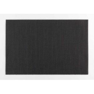 Čierno zlaté obdĺžnikové prestieranie na stôl 30 x 45 cm