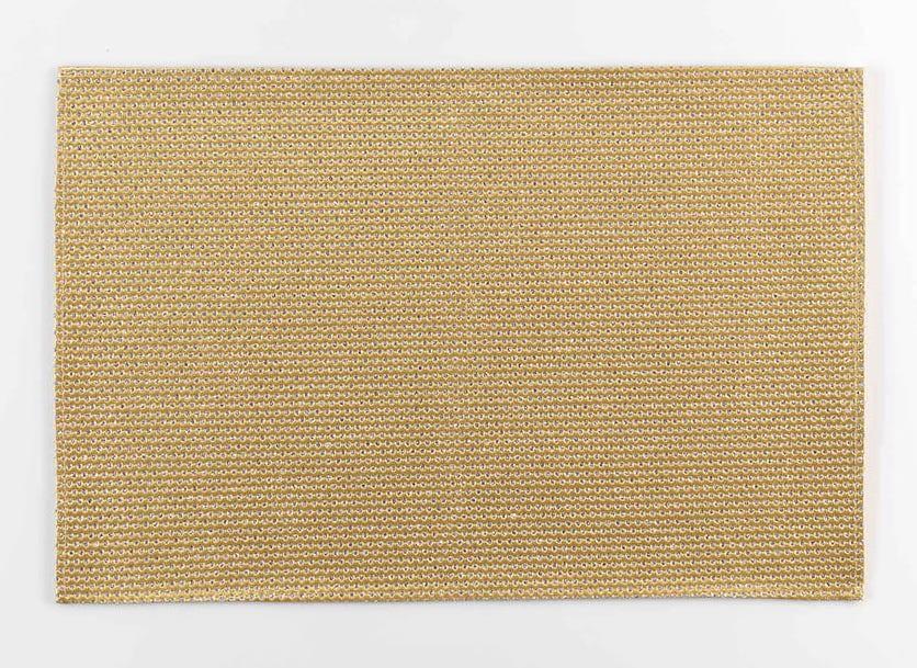 DomTextilu Zlato strieborné prestieranie na stôl 30 x 45 cm Zlatá