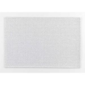 Moderné bielo strieborné prestieranie na stôl 30 x 45 cm