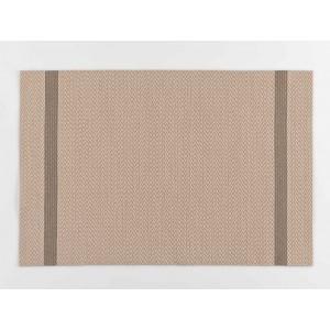 Módne béžovo zlaté prestieranie na stôl 30 x 45 cm