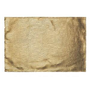 Luxusné zlaté prestieranie na stôl s haďou potlačou 30X45