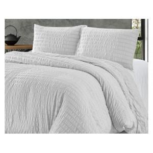Trendy biele posteľné obliečky 200 x 240 cm