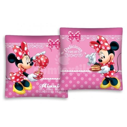 Obliečka na vankúš s motívom Minnie Mouse JD67