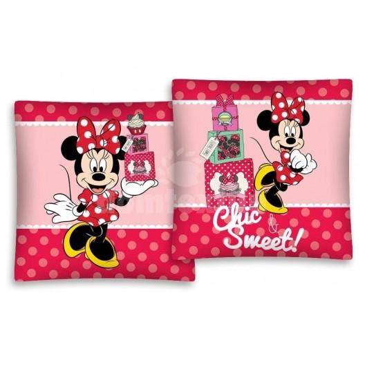 Obliečka na vankúš s motívom Minnie Mouse JD69