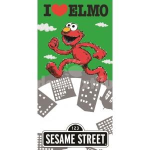 Detský uterák s motívom postavičky Elmo RDB27