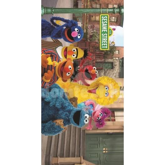 Detský uterák s motívom rozprávky Sesame Street RDB26