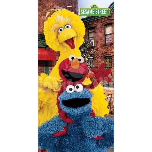 Detský uterák s motívom rozprávky Sesame Street RDC2