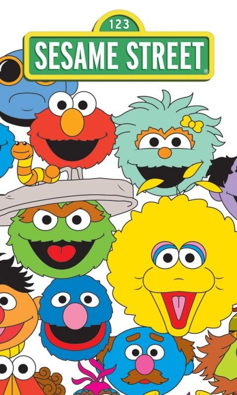 DomTextilu Detský uterák s motívom rozprávky Sesame Street RDE1 Šírka: 30 cm   Dĺžka: 50 cm 2319-5710