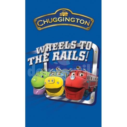 Detský uterák s motívom rozprávky Chuggington RDE4