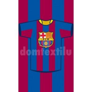 Detský uterák s motívom FC Barcelona RDE11