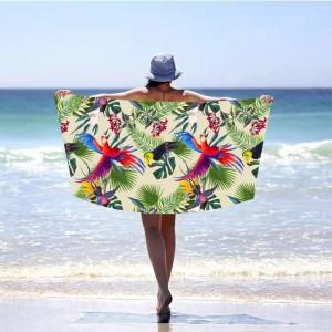 Originálna plážová osuška exotic paradise 100 x 180 cm