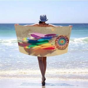 Kvalitná plážová osuška lapač snov 100 x 180 cm