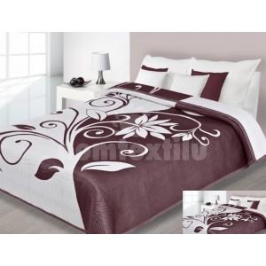 Luxusný obojstranný prehoz na posteľ