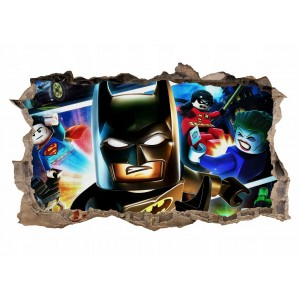 Nálepka na stenu Batman 47x77cm