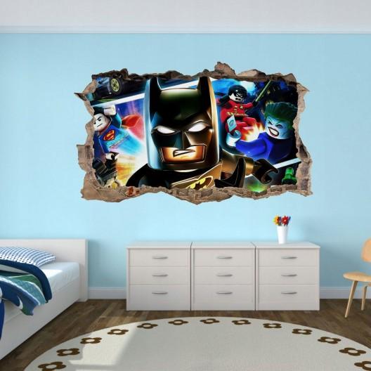 Nálepka na stenu Batman