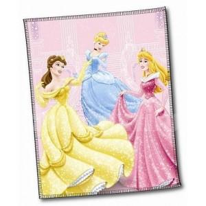 Detské deky od Disney vzor Princess