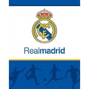 Teplá detská deka futbalového klubu Real Madrid