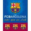Teplá detská deka futbalového klubu FC Barcelona