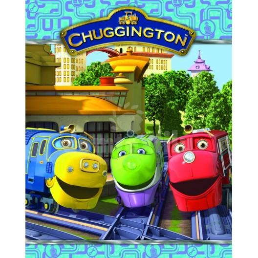 Jemná detská deka Disney vzor Chuggington