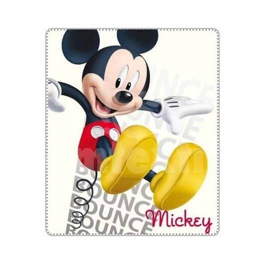 Hrubá detská deka Disney Mickey mouse