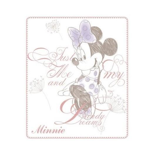 Krasná jemná detská deka Disney Mickey mouse