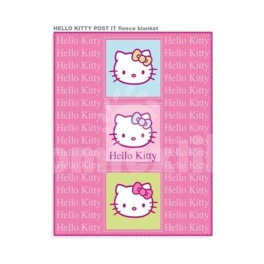 Hrubá detská deka Disney Hello Kitty
