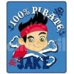 Jemná  detská deka Disney pirate Jake