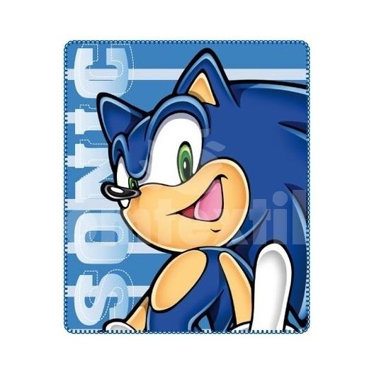 Jemná  detská deka Disney Sonic X