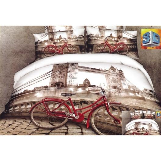 Moderné posteľné obliečky 100% bavlnený satén Londýn