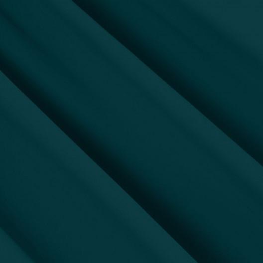 Tmavo zelený zatemňovací záves so zavesením na štipce
