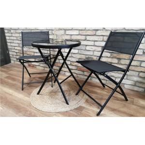 Set dvoch záhradných skladacích stoličiek