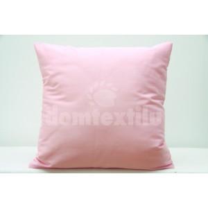 Svetlo ružové obliečky na vankúš na dekoráciu 40x40 cm SKLADOM