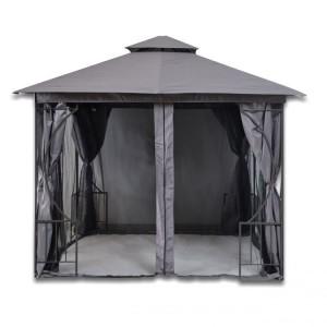 Záhradný stan 3 x 3 m s moskytiérou