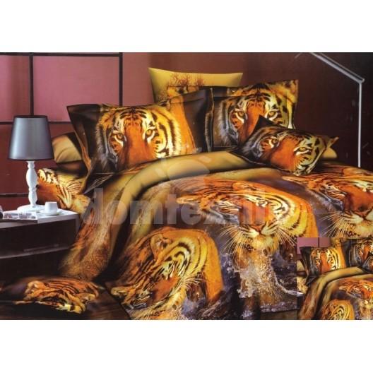 Moderné posteľné návliečky s tigrami